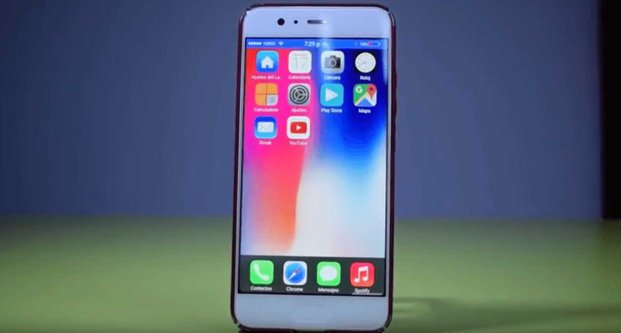 iOS 11 on Android