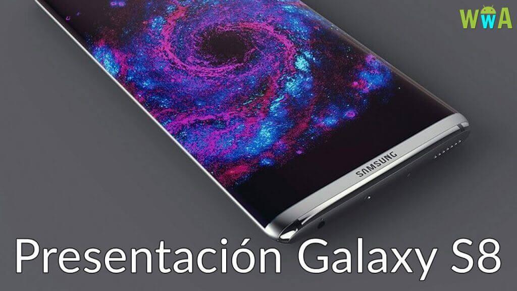 Presentación Samsung Galaxy S8 filtrada