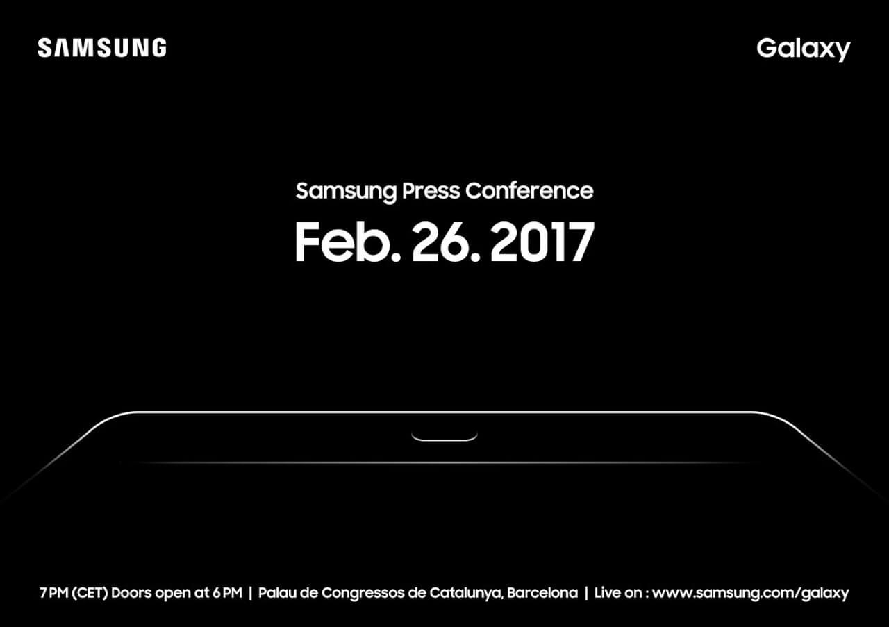 MWC Samsung press