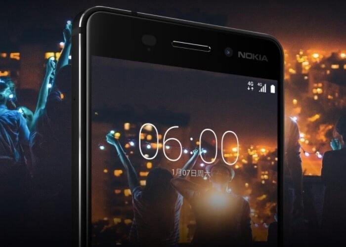 Nokia 6 frontal