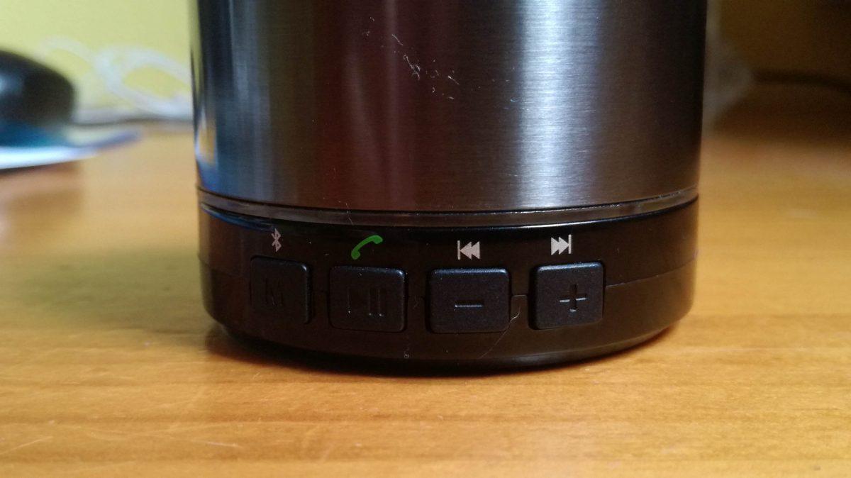 Controles Altavoz EasyAcc Bluetooth