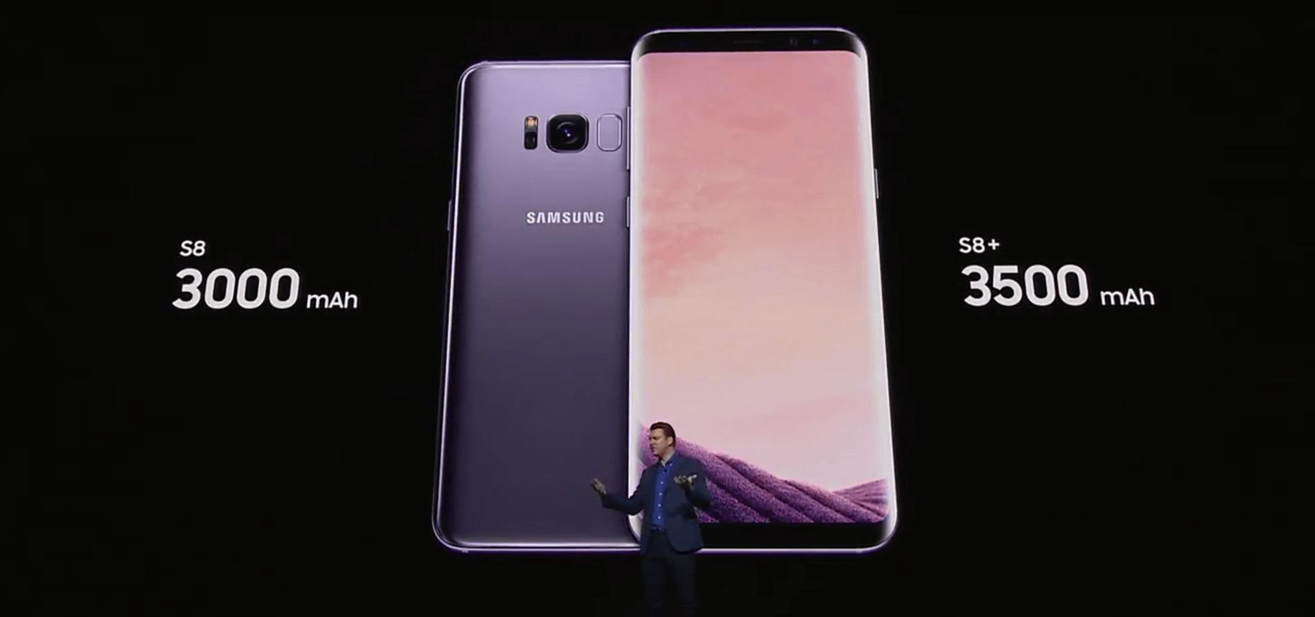 Samsung Galaxy S8 batería