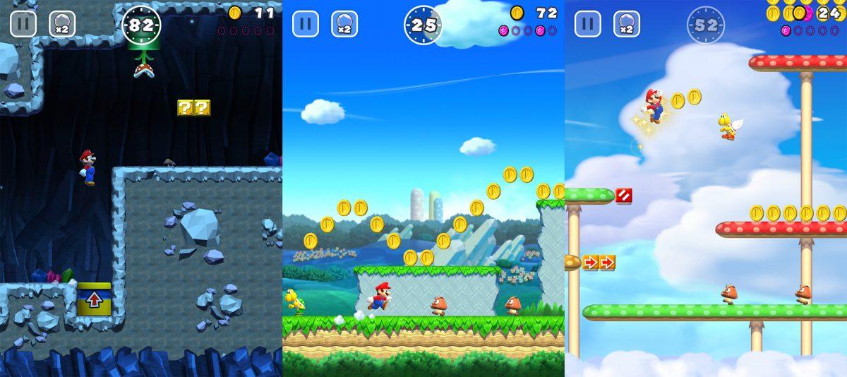 Super Mario Run niveles