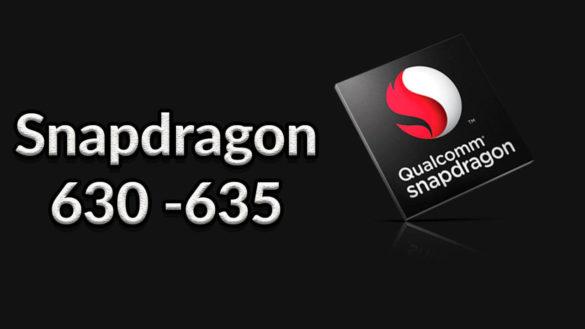 snapdragon 630 y 635