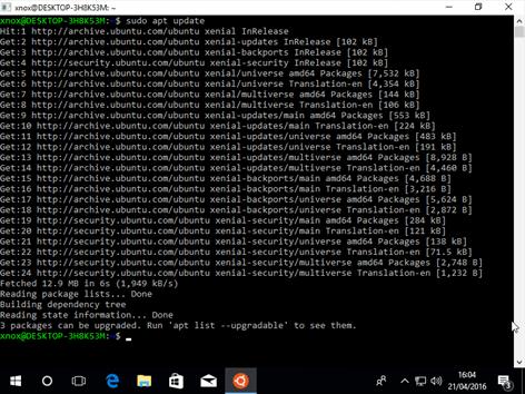 Ubuntu Bash