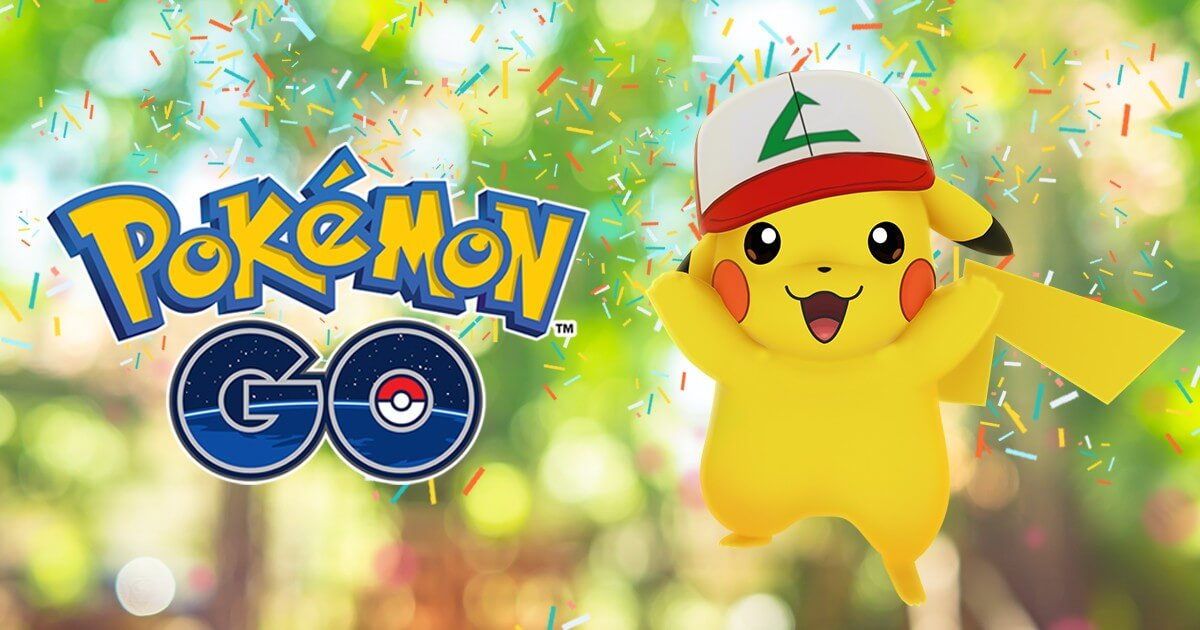 Pokémon Go aniversario