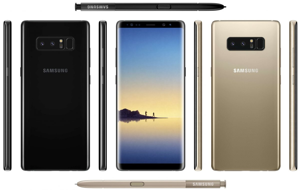 Galaxy Note 8 filtración