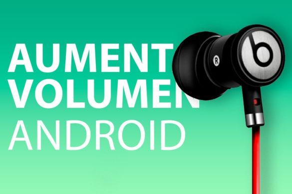Aumentar volumen Android
