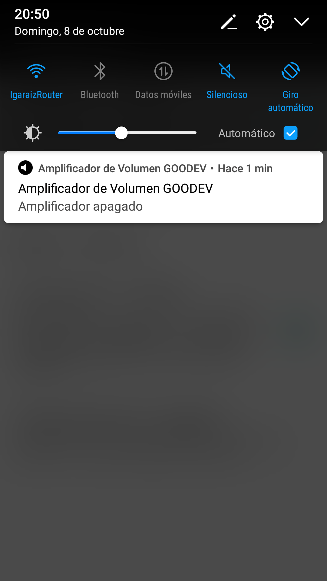 aumentar volumen movil
