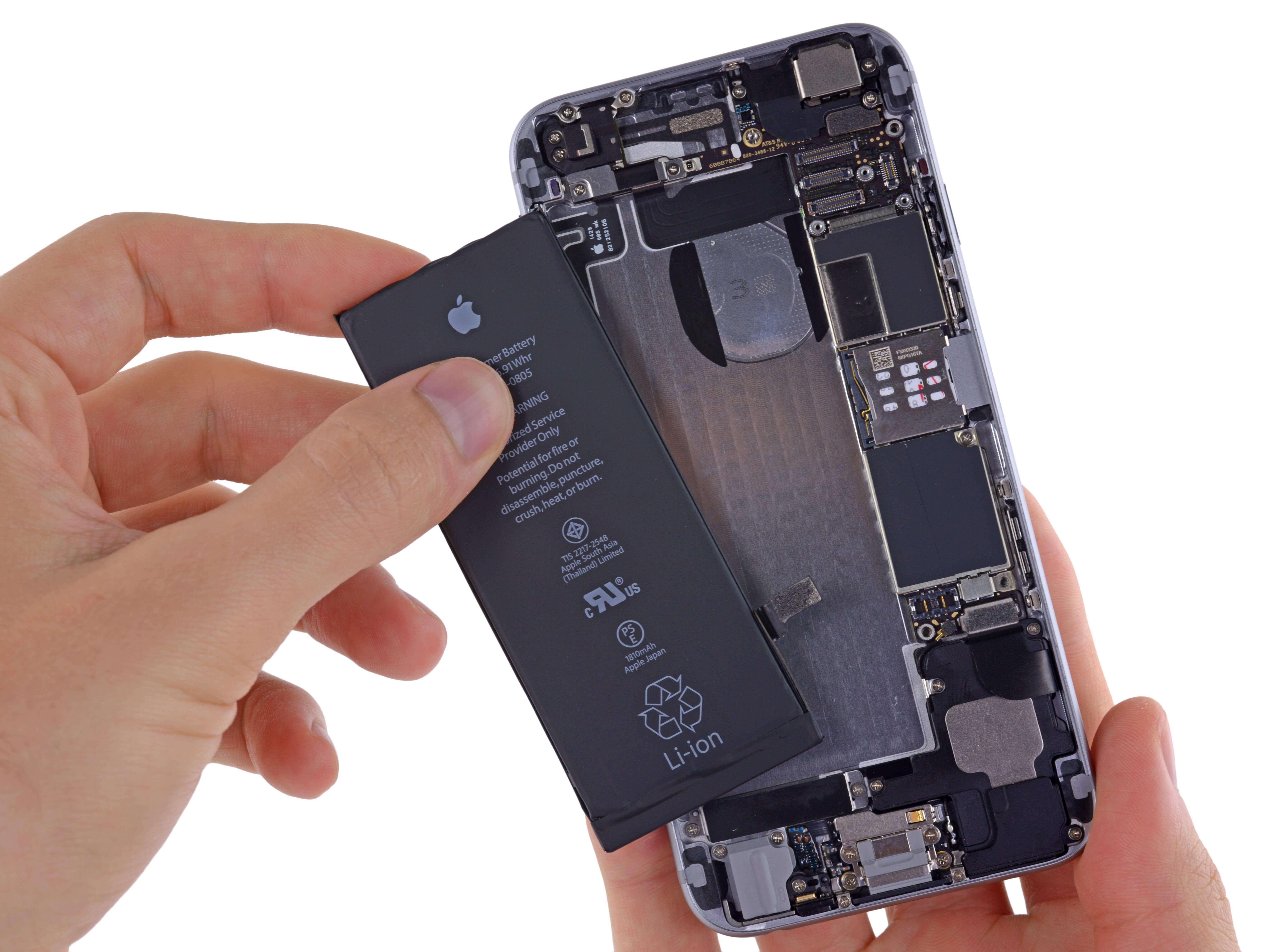 iPhone 6s baterías