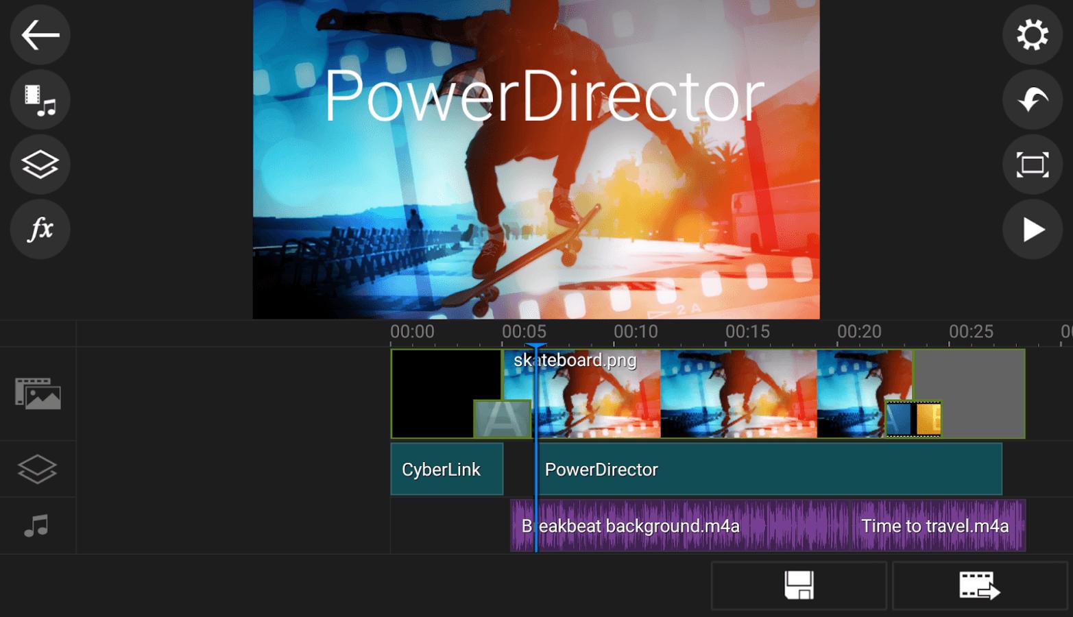 PowerDirector - Editor de vídeo
