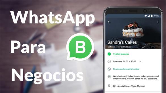 Llega el nuevo WhatsApp para negocios