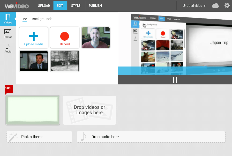 WeVideo - Editor de vídeo